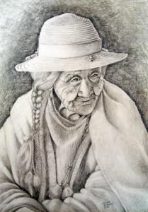 Pachamama Dibujo