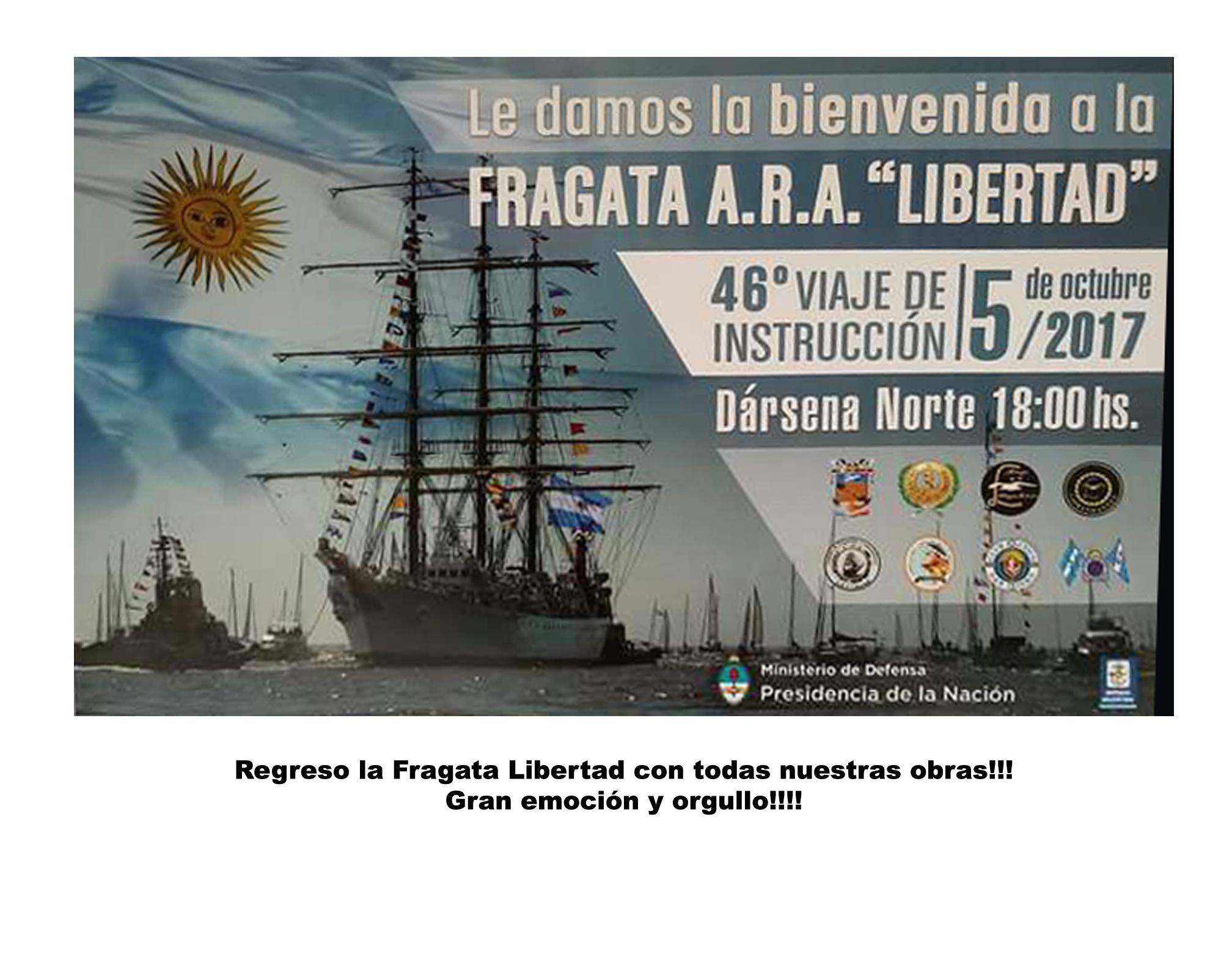 Amigos de las Artes y Fragata Libertad
