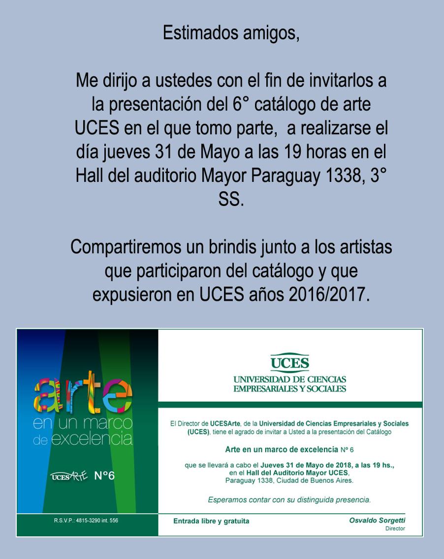 Universidad UCES  Arte Catálogo